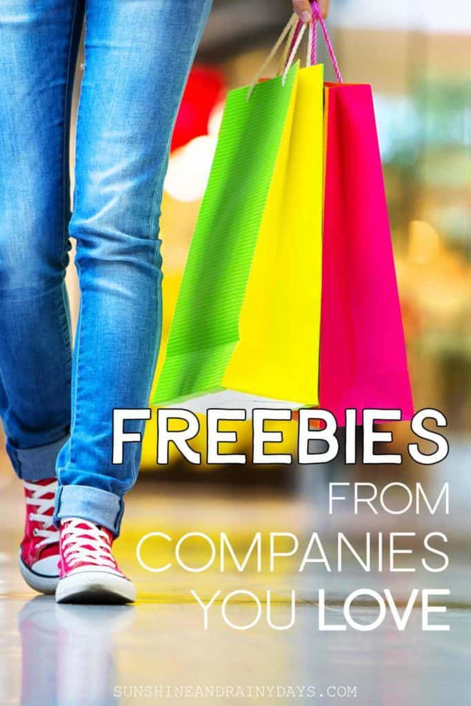 Freebies from companies we love are a great way to think ahead for gifts or things we will need in the future, if not now!