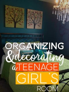 Organizing And Decorating A Teenage Girl's Room