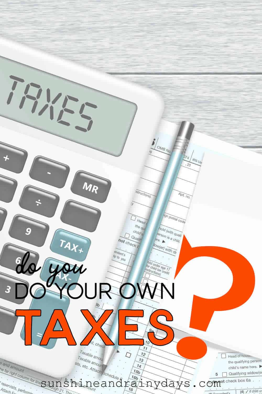 For many years we used a tax accountant to do our taxes. We would get our paperwork together, make an appointment, and meet up at the accountant's office. I never enjoyed paying  $300 to have our taxes done and decided I could do it myself! After all, our taxes were pretty straight forward.