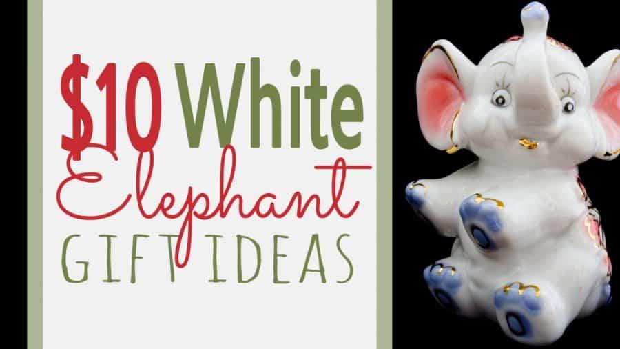 $10 White Elephant Gift Exchange Ideas