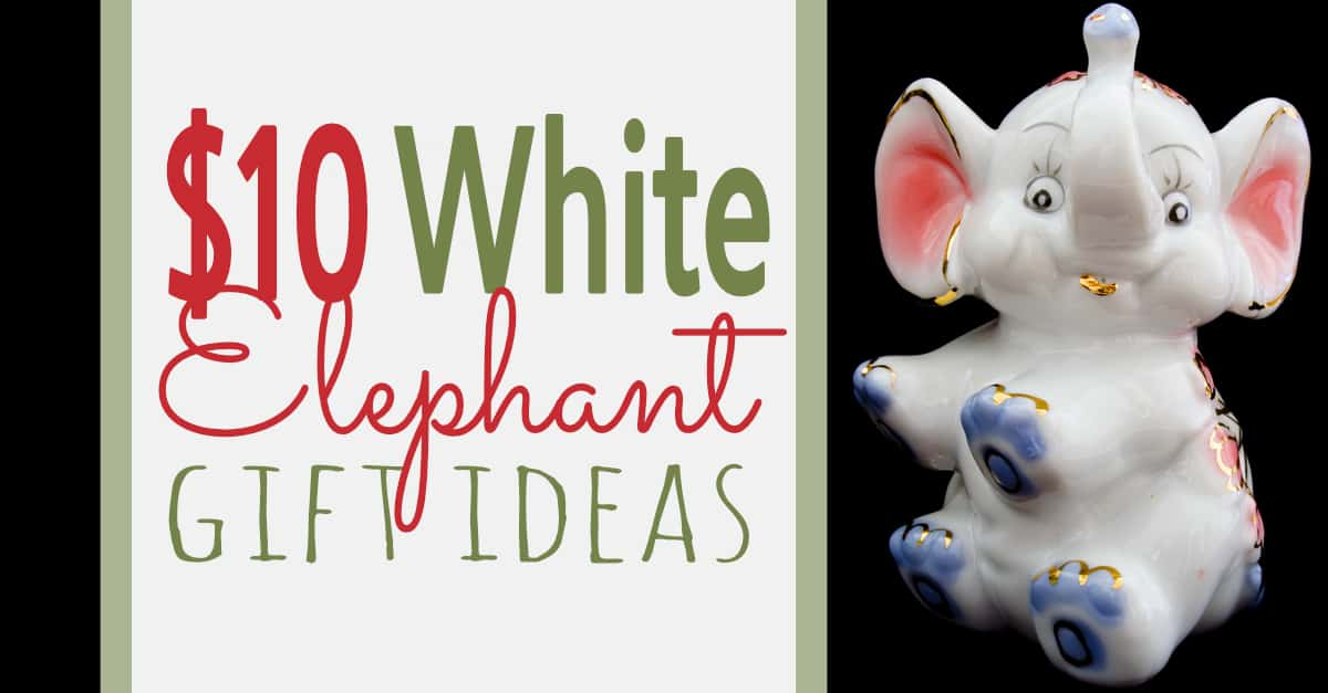 $10 White Elephant Gift Exchange Ideas