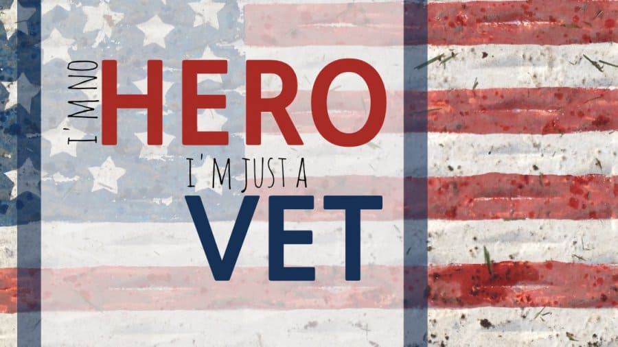 I'm No Hero, I'm Just A Vet
