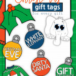 Do you have an amazing memory and KNOW who each and every gift is for by the sheer weight and size? Do you have a different gift wrap for each family member and a cheat code to go along with it? These free printable Christmas gift tags are not for you! This post is for those of us looking for something that's a step up from the Sharpie on the back of the package or carefully folded and cut wrapping paper in the shape of a card. Remember that? Christmas Gift Tags Printable | #ChristmasGiftTags