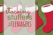 Stocking Stuffers for Teenagers