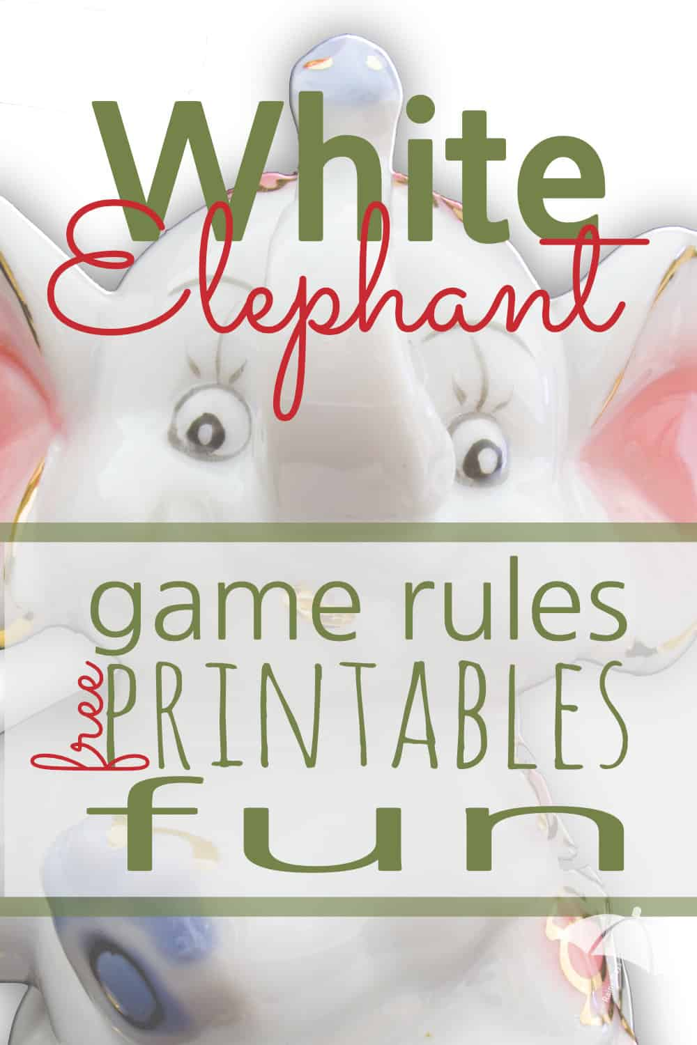 A White Elephant Gift Exchange is budget friendly and FUN! These White Elephant Gift Exchange Rules and Printables will take your party over the top!