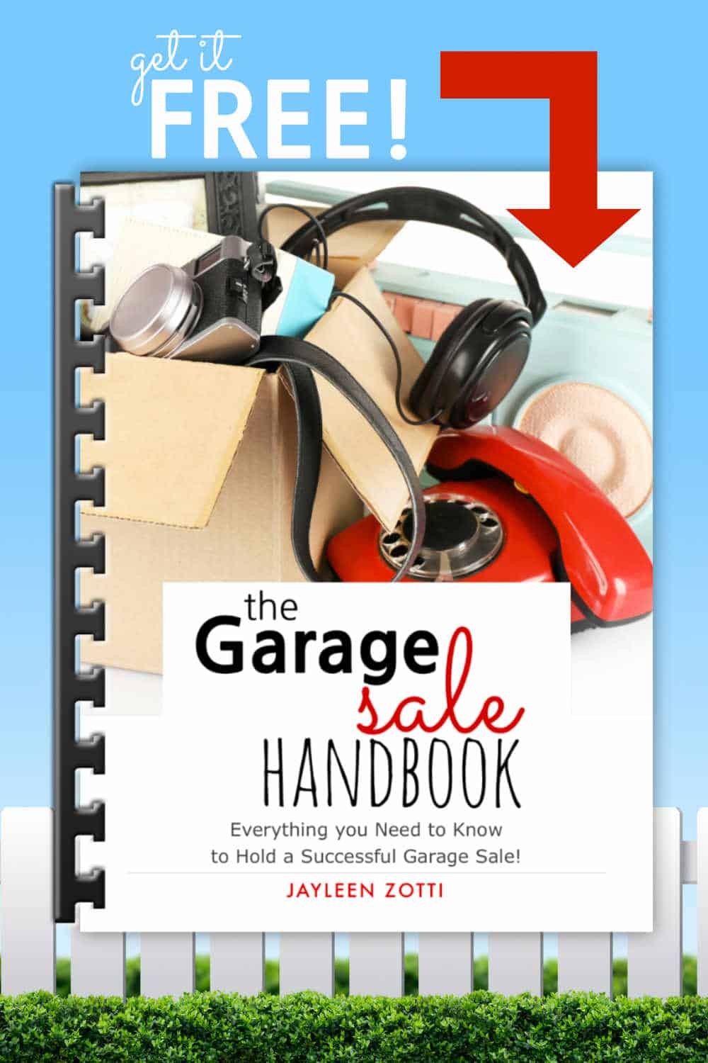 The Garage Sale Handbook is everything you need to know to hold a successful garage sale! It's an easy read with just 45 pages including 16 printables that will help you stay on track!
