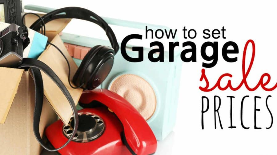 How To Set Garage Sale Prices