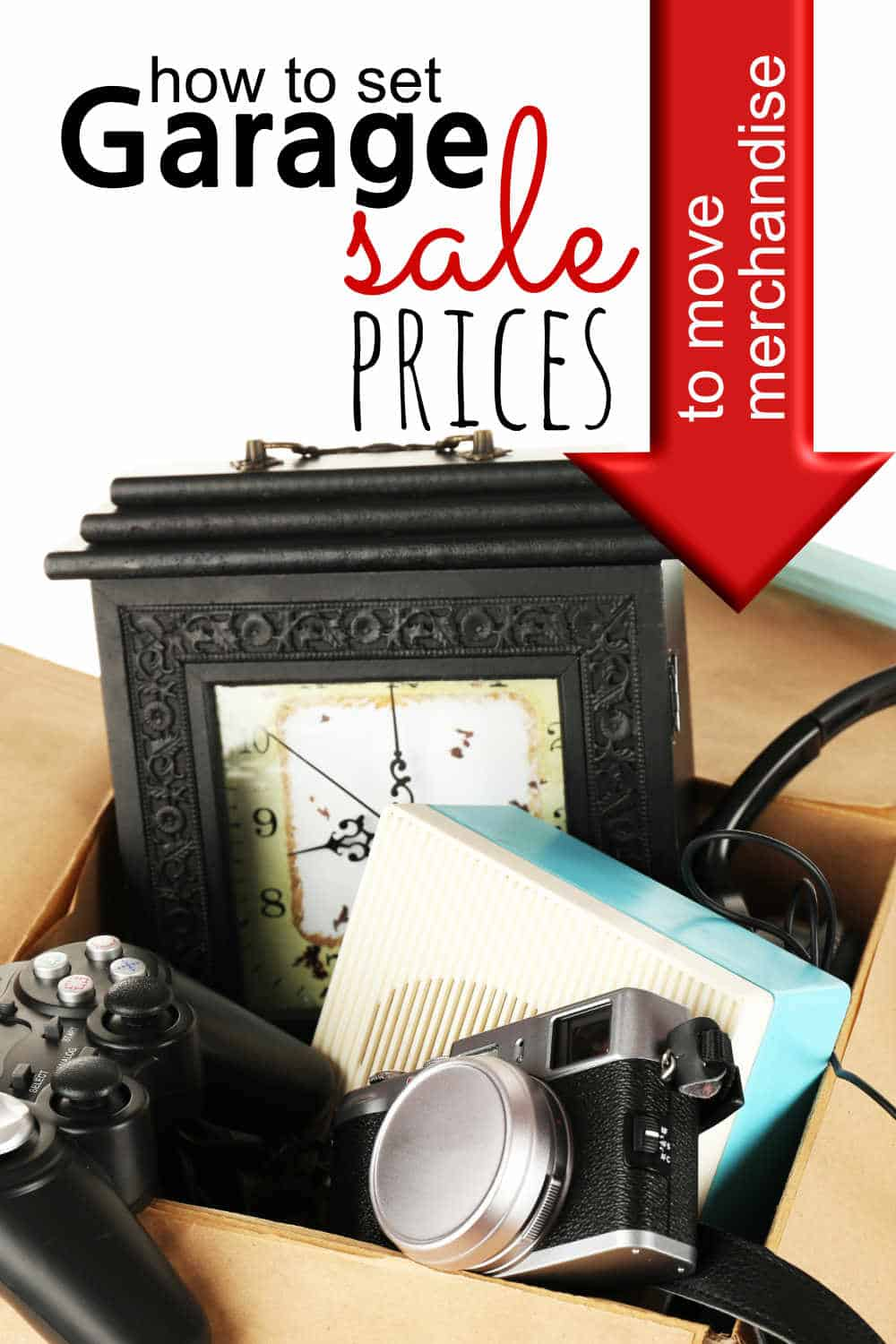 Garage sale prices are expected to be rock bottom. It's the last ditch effort to make a little money. That doesn't mean you should be taken advantage of. It simply means you need to be realistic when you set your garage sale prices.