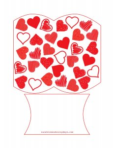 Valentine Pillow Box
