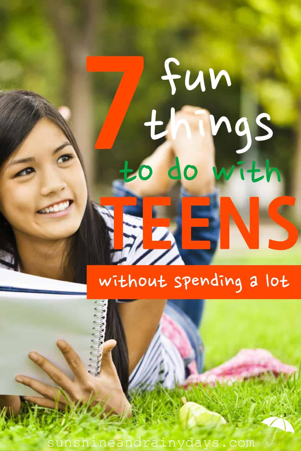 So you're on a budget and you're sticking to it! That doesn't mean you have to sit and stare at each other as life passes you by. Get out there and do something! (I'm preaching to the choir here.) Check out 7 fun things to do with teens.