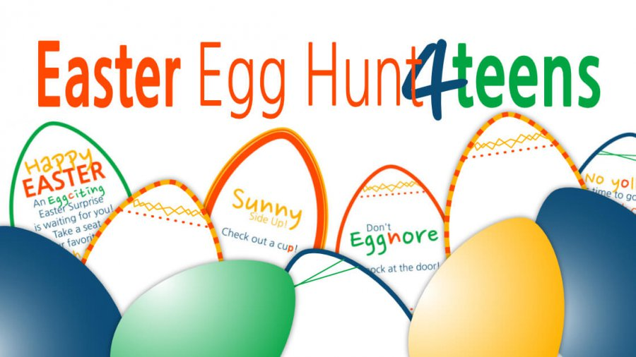 Easter Egg Hunt for Teens