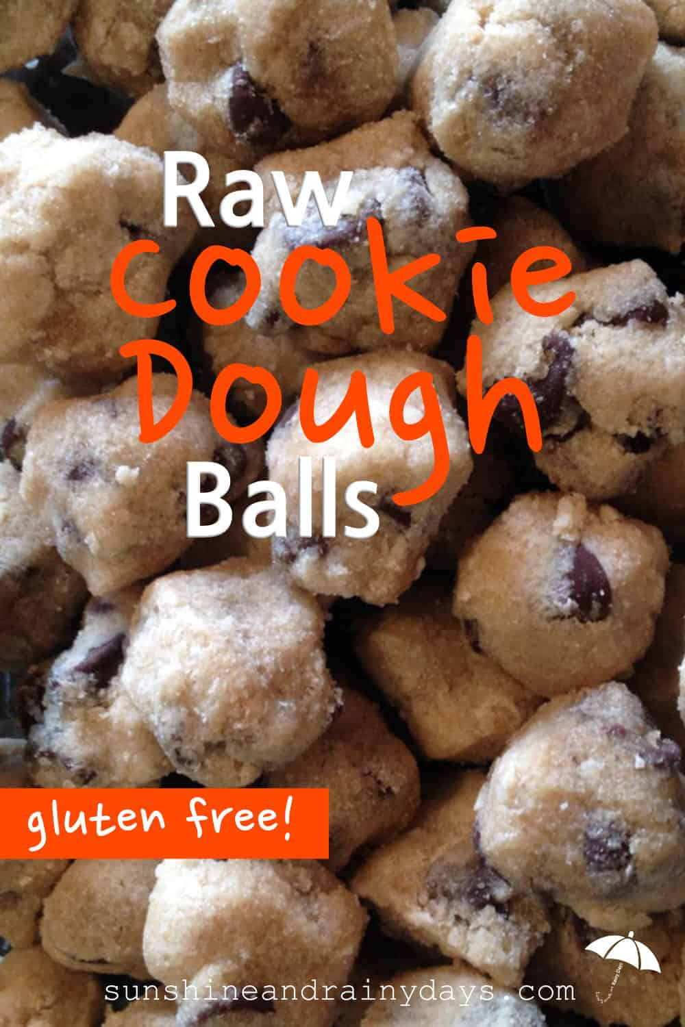The best part of baking cookies is sneaking a little raw cookie dough, right? You know you shouldn't because, well, raw eggs! You do anyway though because it's just so delightful! Fear the raw egg no more and make cookie dough that was never meant for baking! Now that's my kind of cookie dough!
