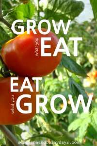 You've decided to take the plunge into the gardening world and grow your own fruits and vegetables! But what should you grow? You visit a garden center and contemplate picking up starts that look healthy and that everyone else seems to be picking up. You take pause and decide to give it a little more thought. After all, you do want to actually Eat what you Grow!