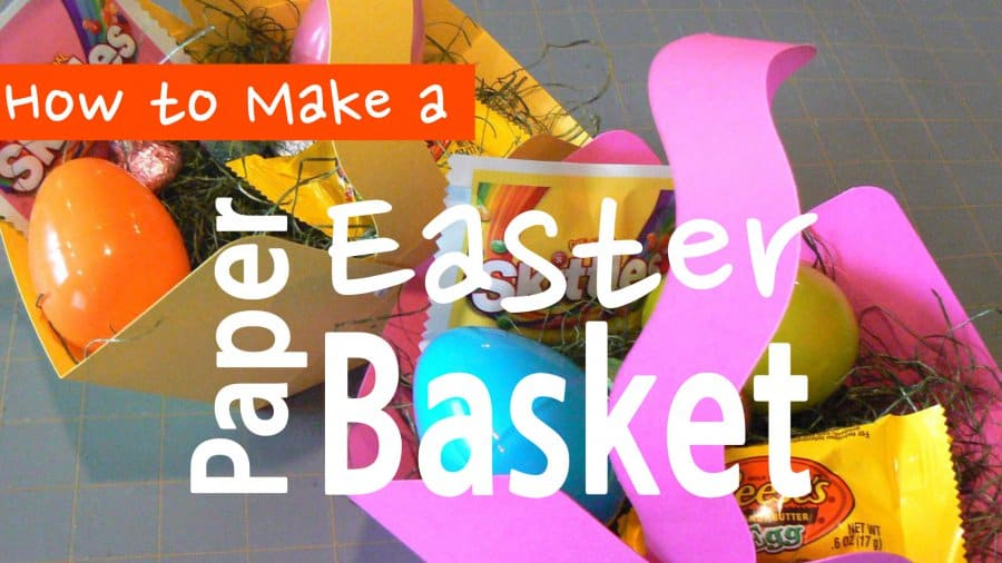 How To Make A Paper Easter Basket Sunshine And Rainy Days