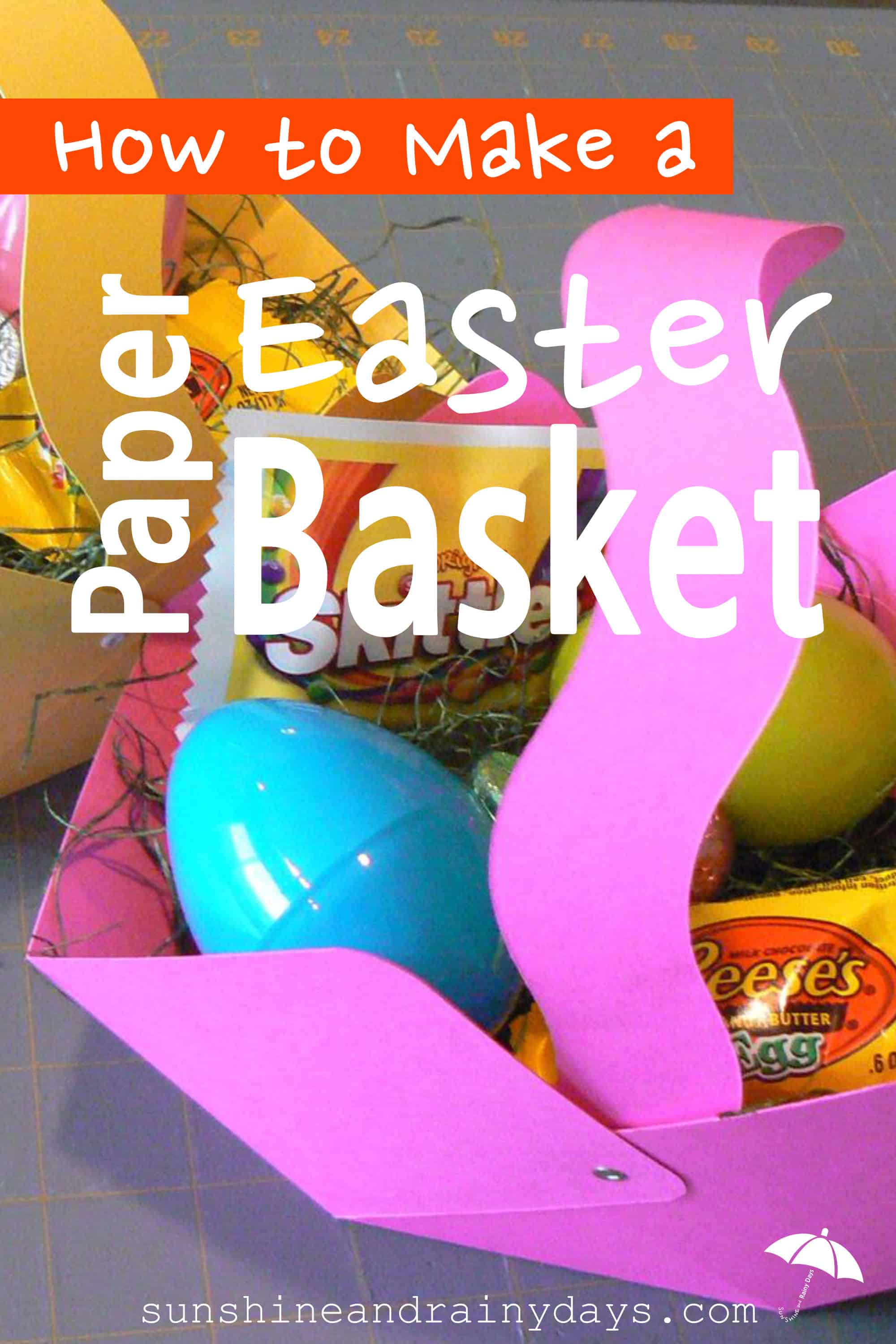 Create a Paper Easter Basket to give to teachers, friends, co-workers, and even your own kids! Fill them up and have fun blessing someone with an awesome treat! The Paper Easter Basket is incredibly inexpensive to make considering the impact it gives.