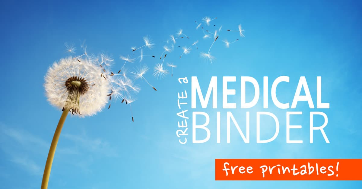 Medical Binder Printables