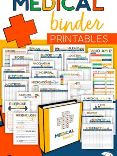 Medical Binder Printables