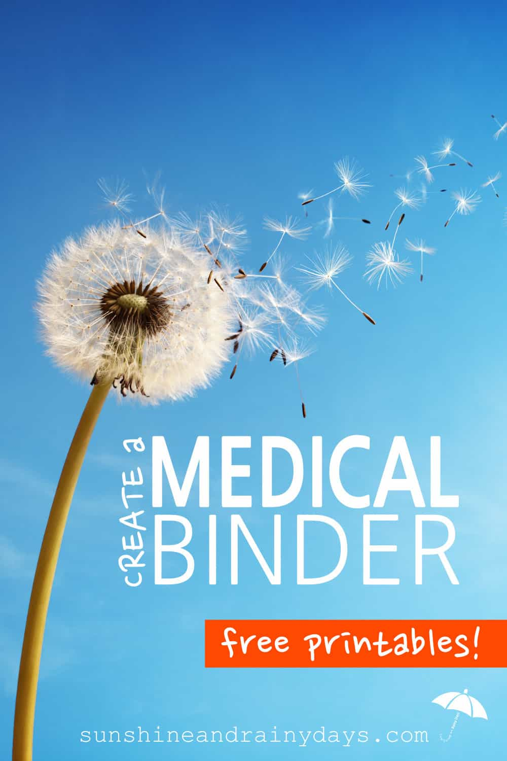 Time is valuable to both you and your doctors. Make that time as efficient as possible by creating a Medical Binder with Medical Binder Printables containing all of your pertinent medical information.
