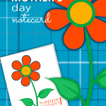 Do you want to spend your Mother's Day budget on the gift and not the card? You're in luck! We have created a Mother's Day FREE Printable Notecard just for you! Woot! Woot!