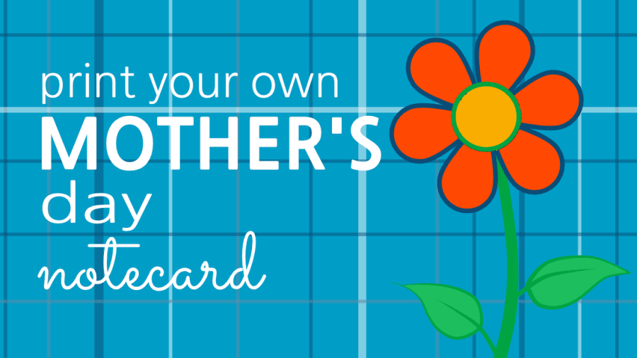 Mother's Day Free Printable Notecard