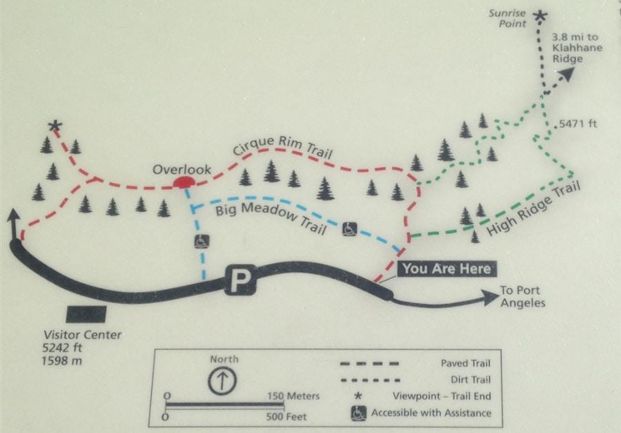 Trails at Hurricane Ridge