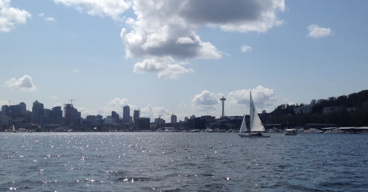 View from The Ducks of Seattle