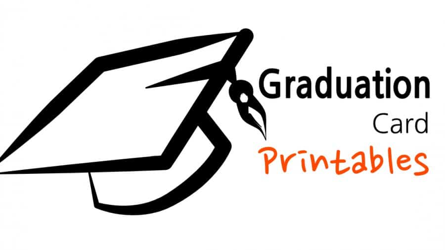 Graduation Card Printables