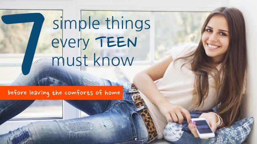 every teen must know