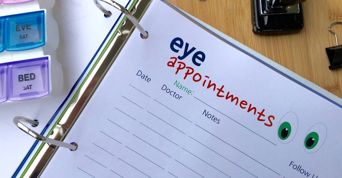 Eye Appointments