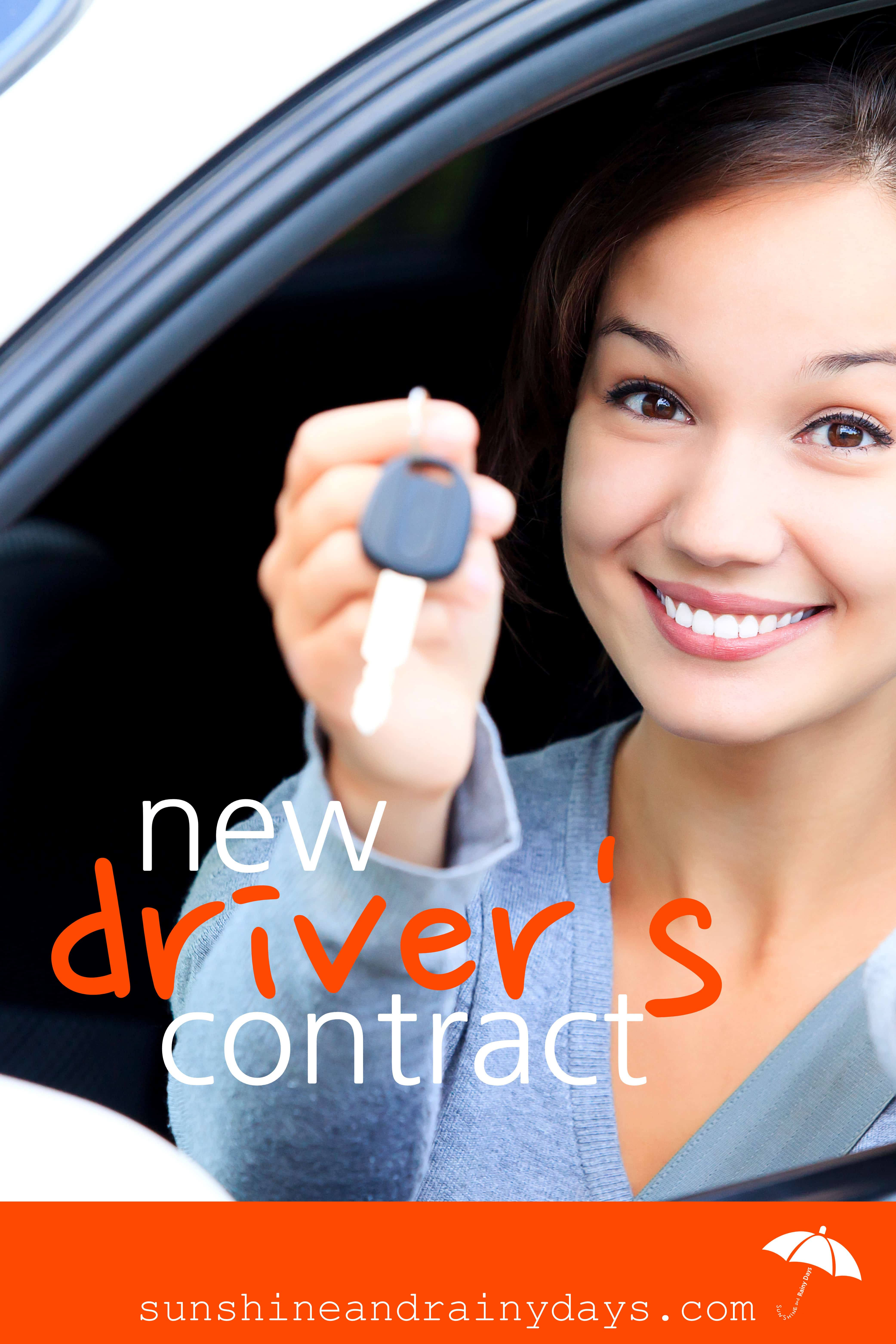 New Driver's Contract For The New Driver