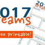 2017 Dream Sheet – Let Yourself Dream!