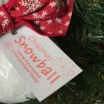 Christmas Snowball – A Creative Way to Give Money!