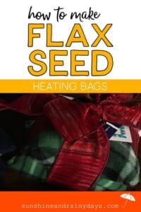 Flax Seed Heating Bag