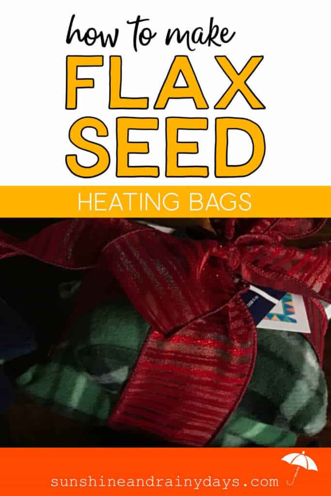 Flax Seed Heating Bag