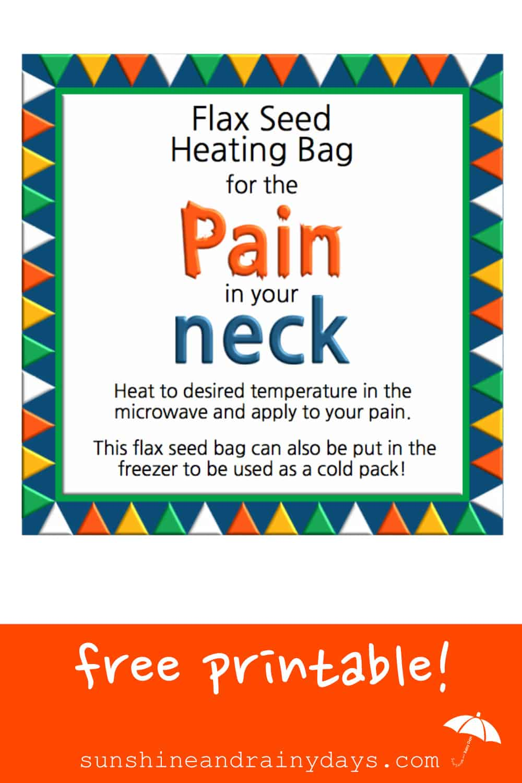 How To Make A Flax Seed Heating Bag! #flaxseedbag