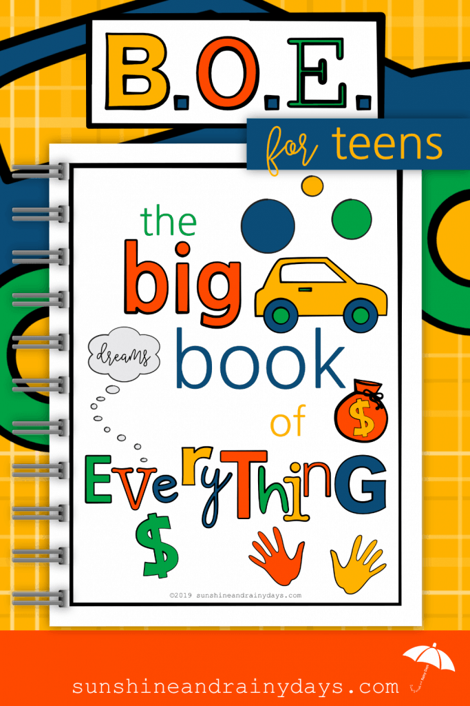 The Big Book of Everything for Teens empowers your teenagers with the information they need at their fingertips! #teenagers