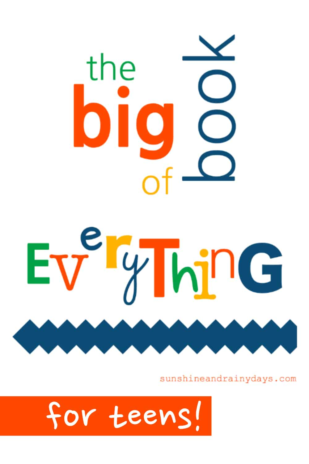 The Big Book of Everything for Teens empowers your teenagers with the information they need at their fingertips!