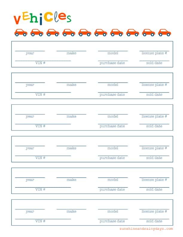 Vehicles BOE