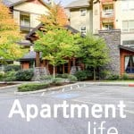 Apartment Life has treated us well but not without a few lessons! We have discovered The Upside Of Apartment Life, The Downside Of Apartment Life, the tools we need to Dominate Apartment Life, and how Apartment Life Has Saved Us Money! Are you intrigued? Join us on our Apartment Life journey!