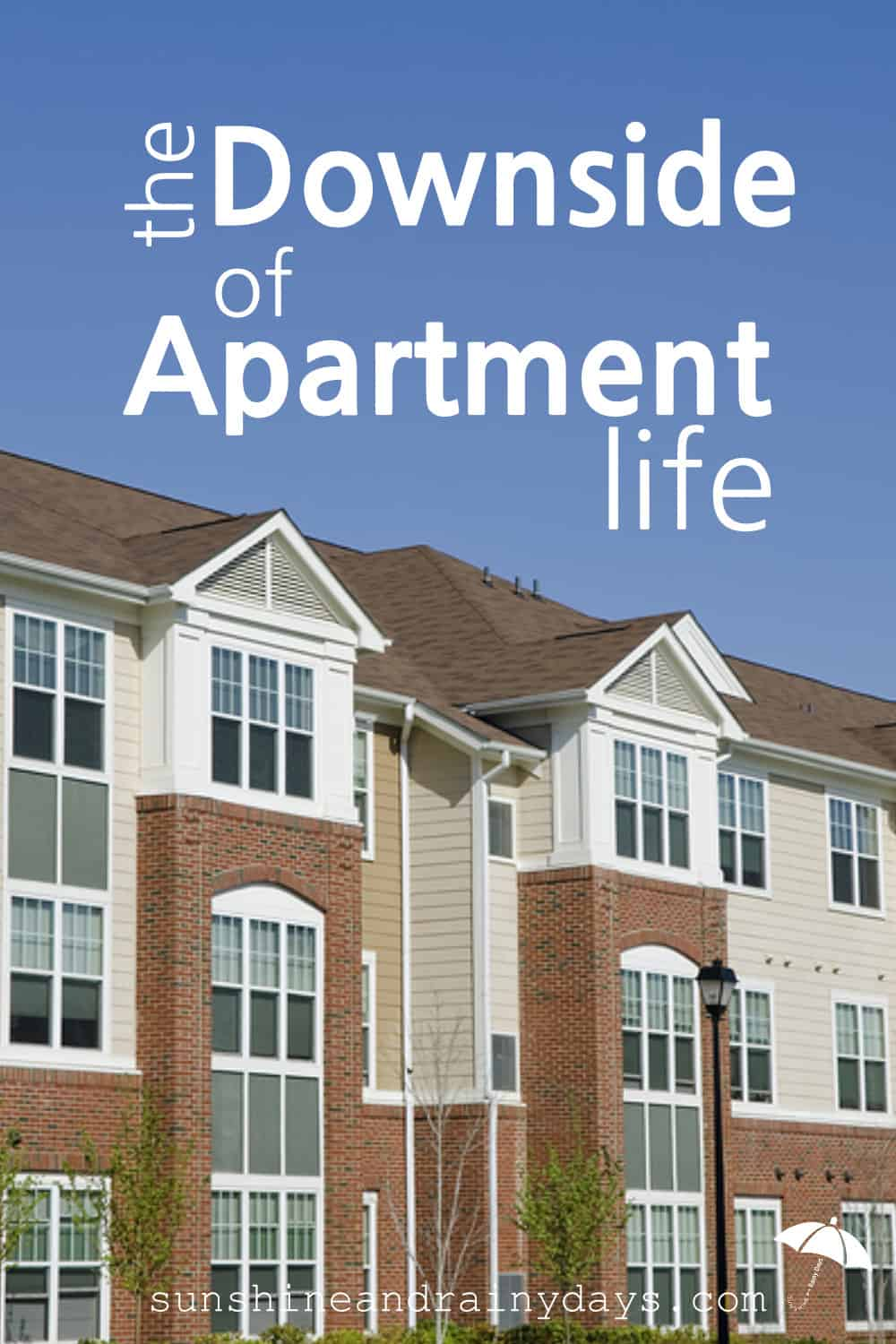 The Downside Of Apartment Life is easy to find. From noise, to parking, and making your own stinking ice, the negatives can overwhelm you. If you are considering apartment life, THIS is the REAL DEAL!