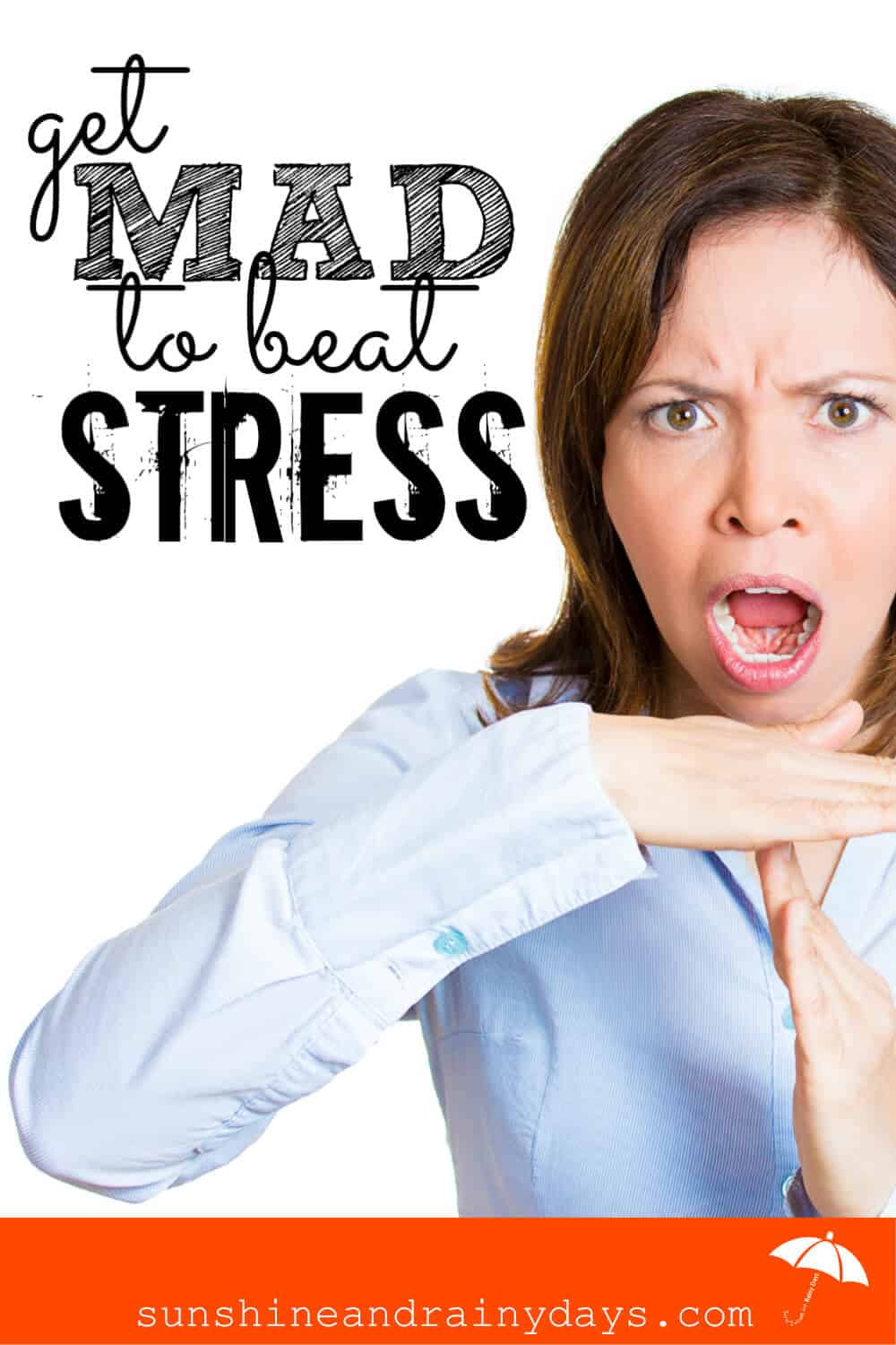 How many conflicting things have you heard lately? Has decision making come to a halt while you sort through the mess of information?! It's time to Get Mad to Beat Stress!