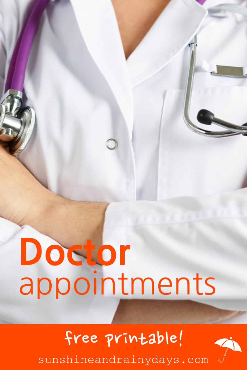 With the Doctor Appointments Free Printable, there is no need to call the doctor's office to see when your last appointment was. You have the information you need right in your very own Medical Binder!
