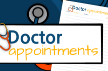 Doctor Appointments Printable – Track Your Doctor Visits