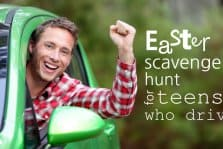 Easter Scavenger Hunt For Teenagers Who Drive