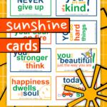 Printable Sunshine Cards