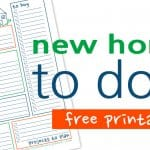 New Home To Do List – Free Printable