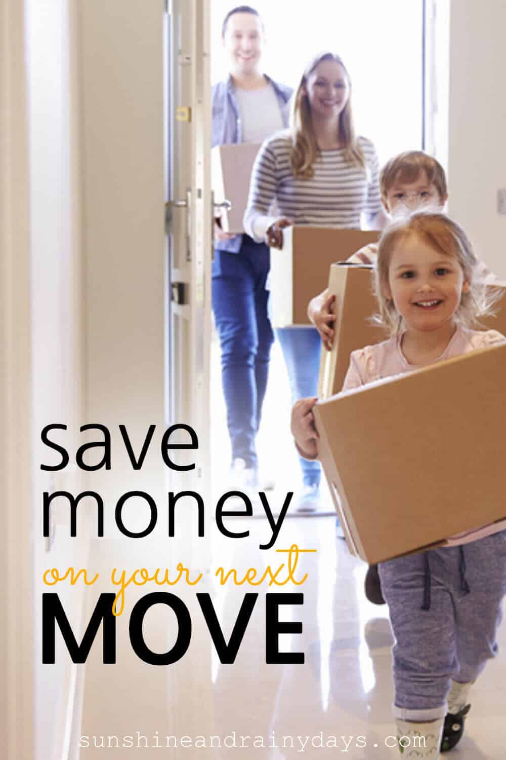 Great tips on how to save money on a local move!