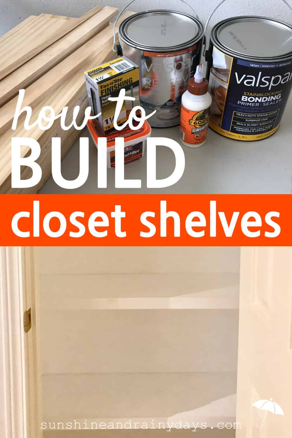 We recently visited The Street Of Dreams and I noticed the homes had custom made closets. I had to learn How To Build Closet Shelves!