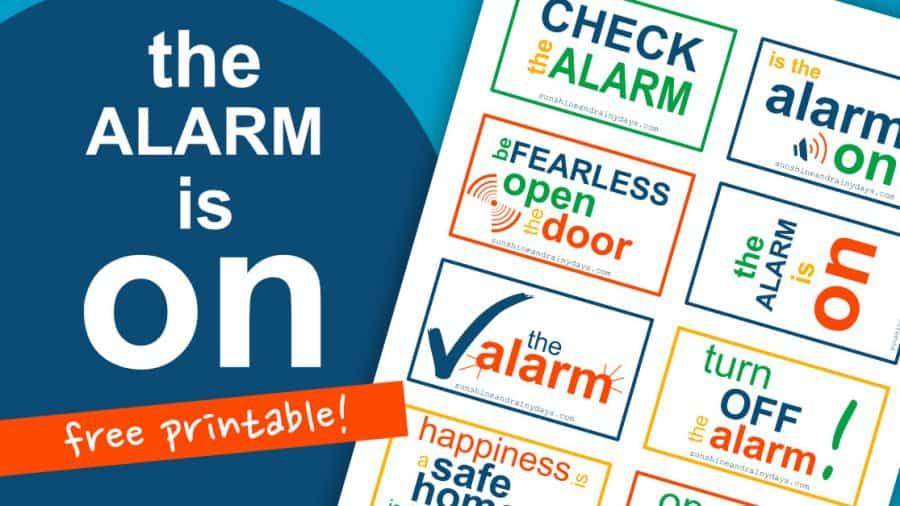 Turn Off The Alarm