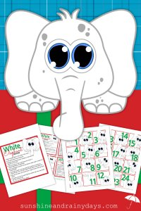 Unlike the Dirty Santa Gift Exchange, White Elephant gifts are generally more humorous than useful. The White Elephant Gift Exchange is a fun way to celebrate with family and friends! Use our White Elephant Rules And Numbers to make your Christmas party a smashing success! #WhiteElephantRules #WhiteElephant #WhiteElephantPrintables #WhiteElephantNumbers
